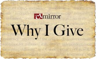 The Mirror's Why I Give Campaign