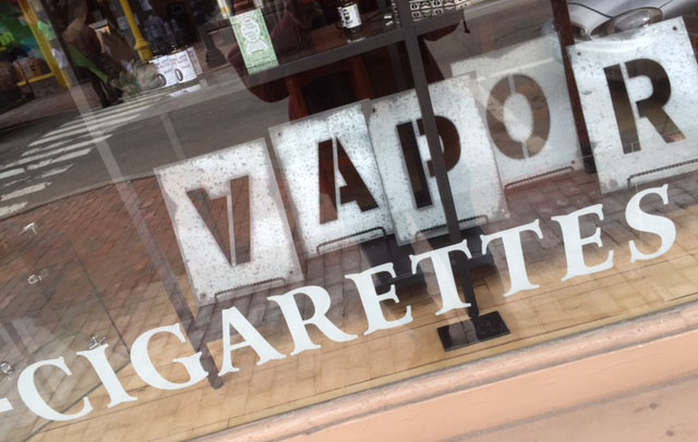 Tax e-cigarettes; discourage young people from vaping