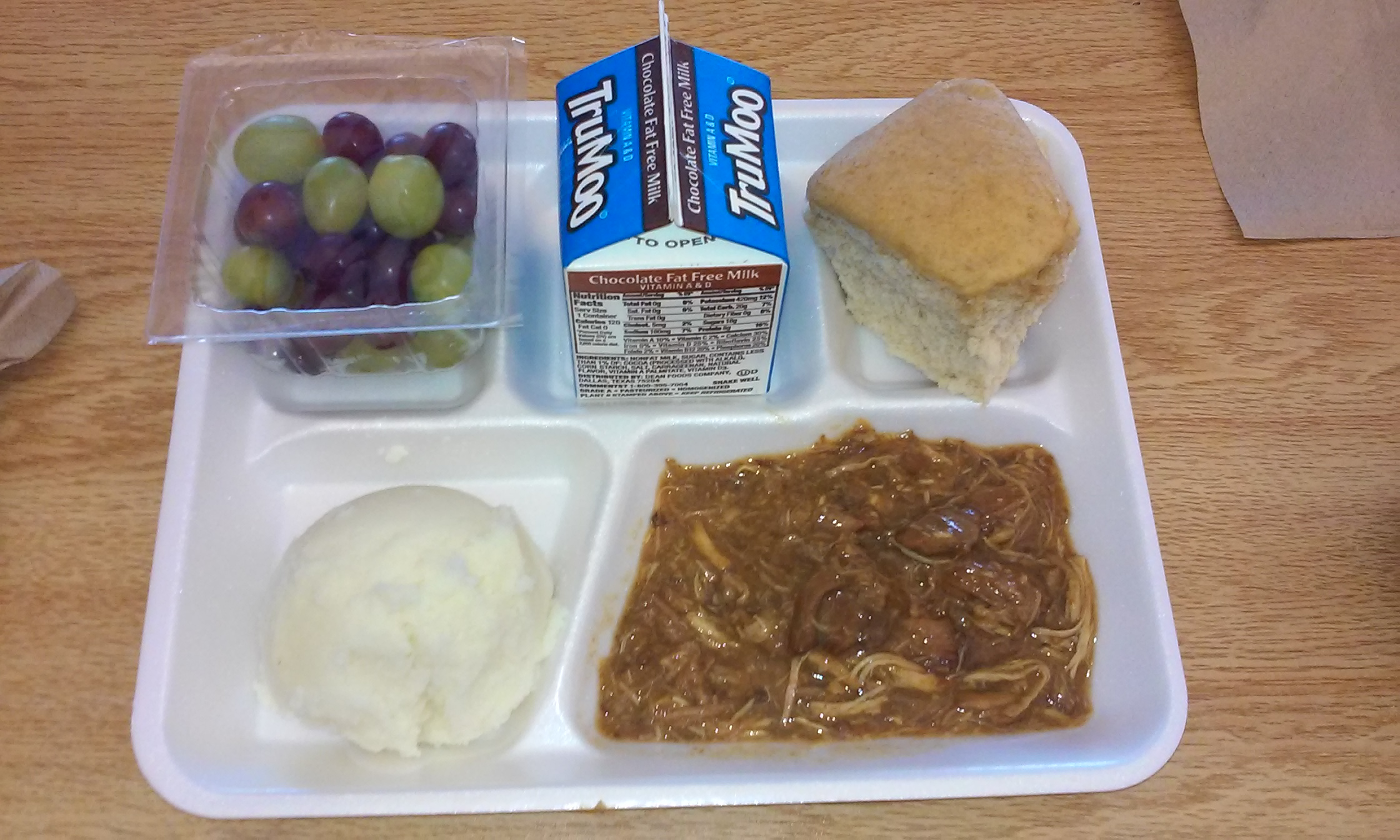 Student: Would you eat this for lunch?