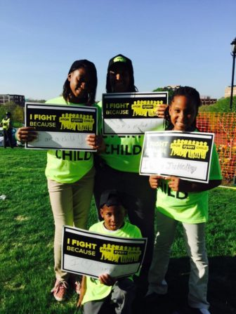 FIghting words from Jumoke charter school students