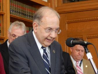 Senate President Pro Tem Martin M. Looney, D-New Haven.