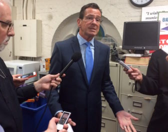 Gov. Malloy responds to Republican criticism early Wednesday evening.