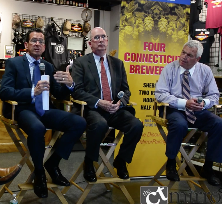 Video: Malloy, business leaders discuss state's business climate