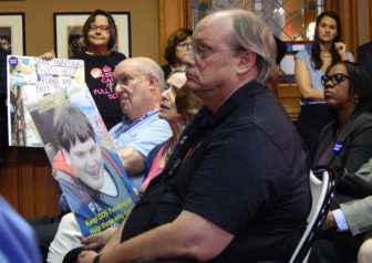 Families of people with intellectual or developmental disabilities are urging lawmakers to enact the budget as is, fearing that any changes could lead to more cuts to services for their loved ones.
