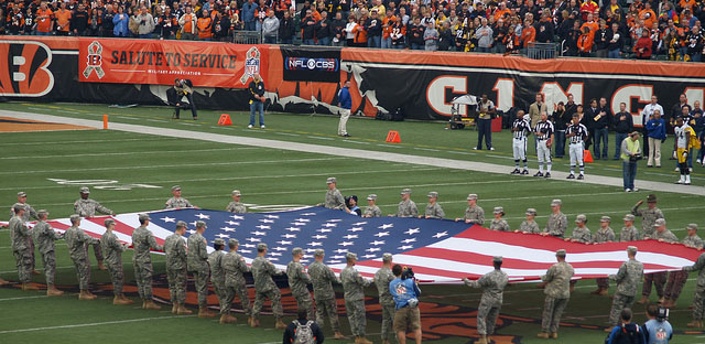 Blumenthal takes aim at NFL's paid tributes to soldiers