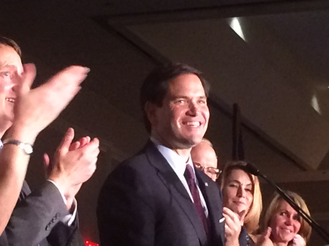 Rubio quotes JFK at Connecticut GOP's Bush dinner