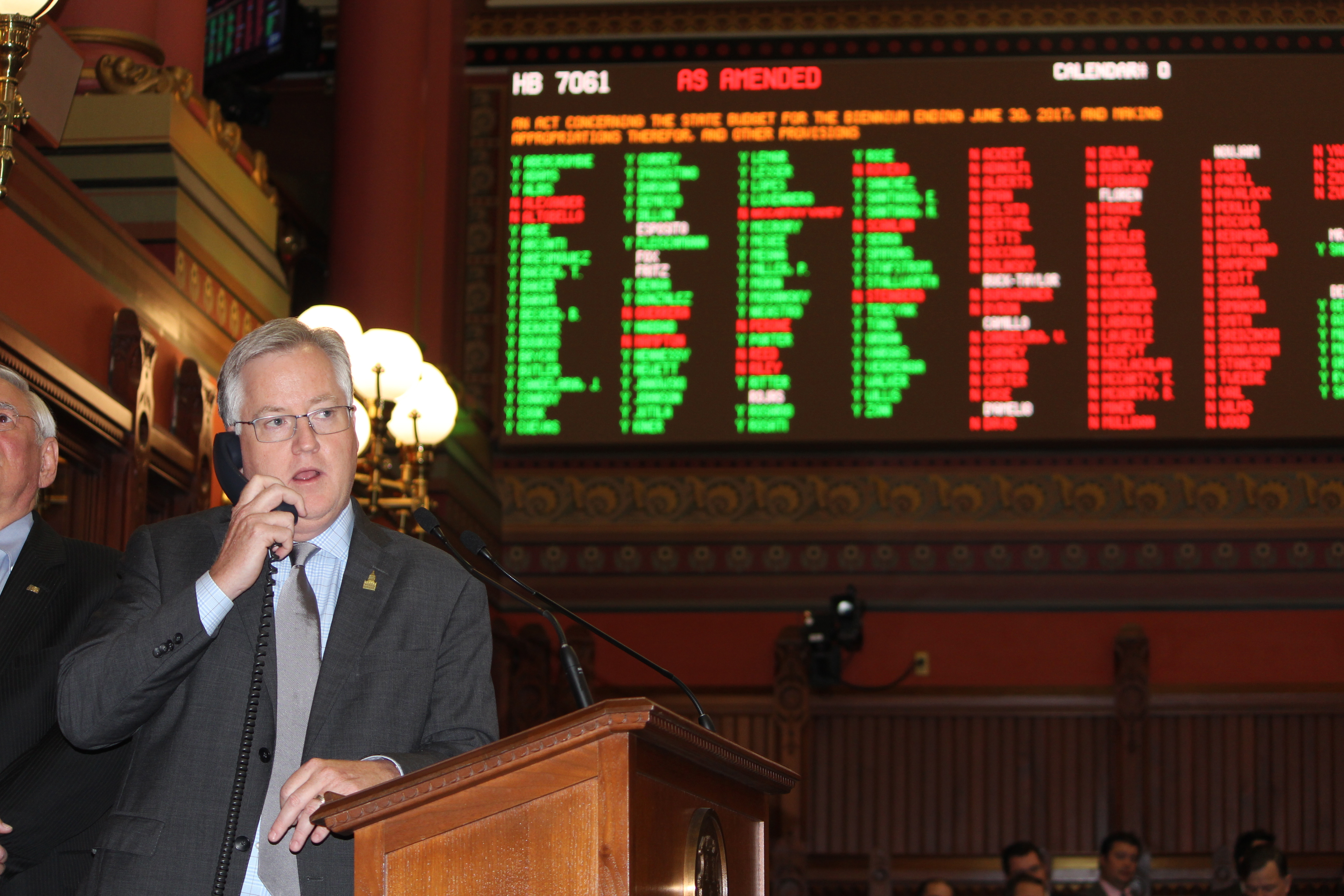 House adopts controversial state budget