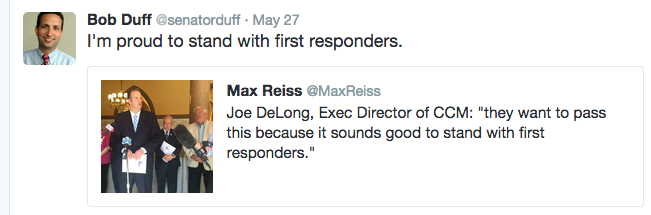 DUFF DeLONG TWEET