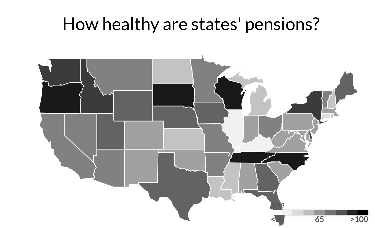 CT still lags most states in saving for public-sector pensions