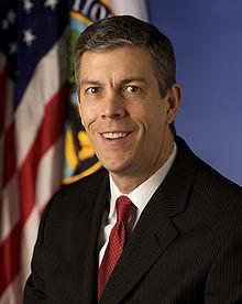 U.S. Secretary of Education Arne Duncan.