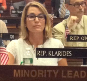 Themis Klarides at Monday's veto session
