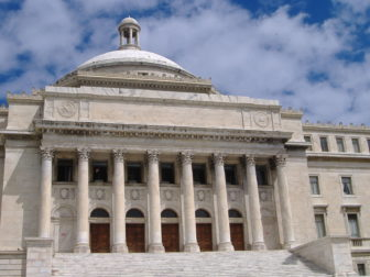 South view of the Puerto Rico Capitol in San Juan