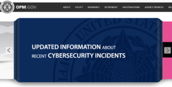The website for the U.S. Office of Personnel Management features updates on the hacking of the agency's data.