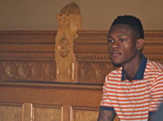Ibrahim Adegona of Bridgeport
