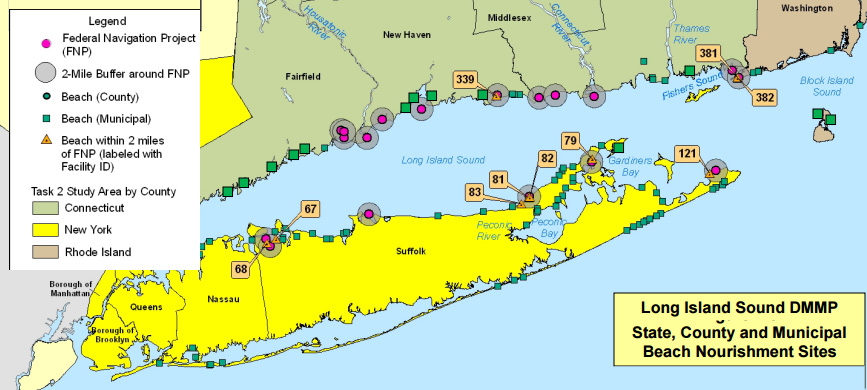 We Can All Help Protect Long Island Sound - Long-island-on-us-map