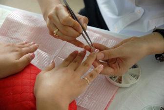 Creating nail art