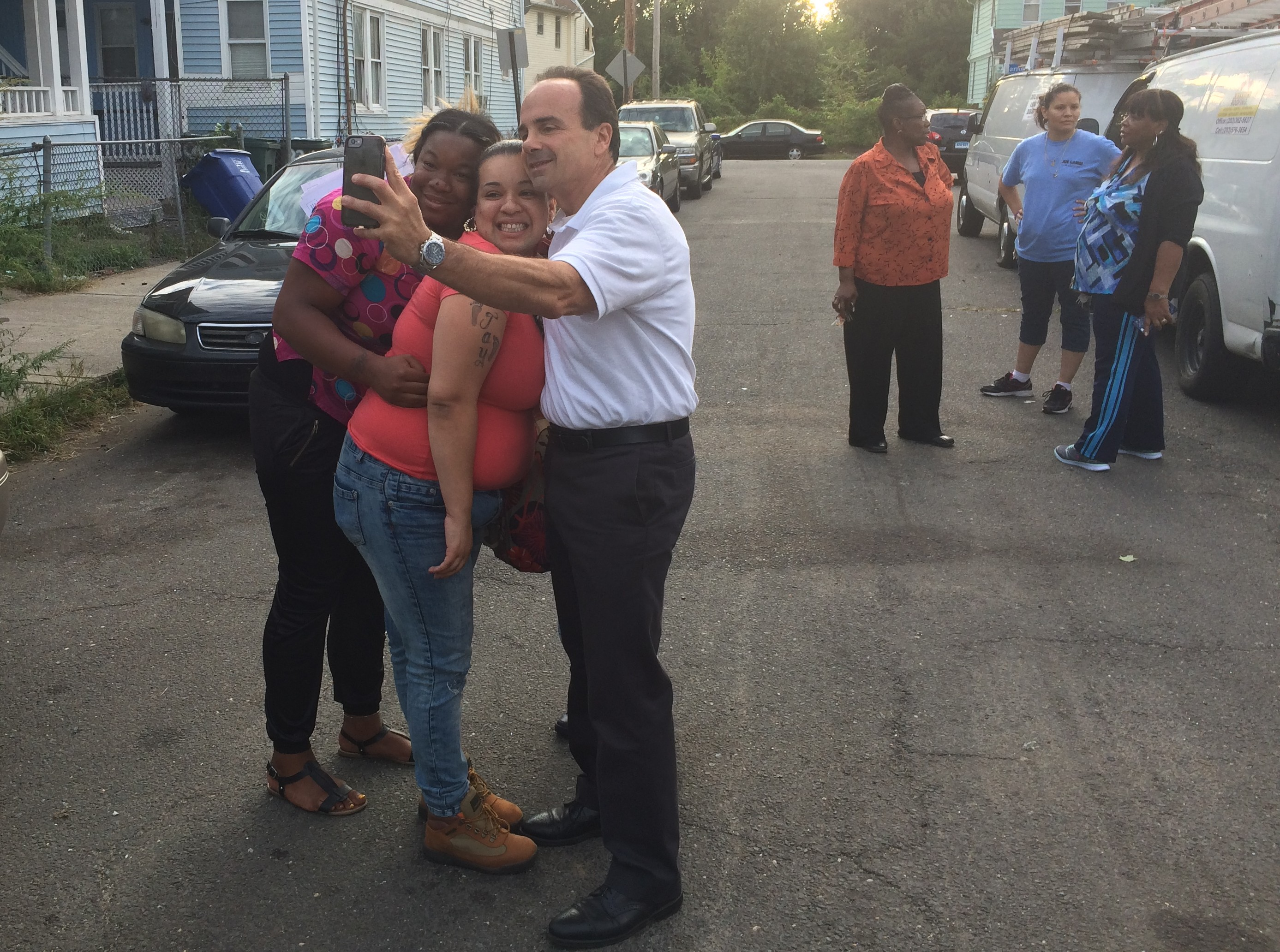 Joe Ganim's first campaign for a second chance