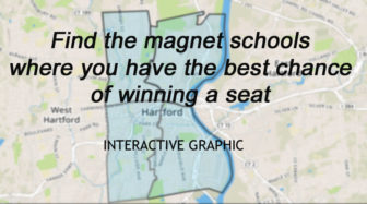Click image to access the interactive tool that will help you find a magnet school where your chances of winning a seat are the best.