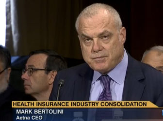 Aetna CEO Mark Bertolini in hearing televised by C-Span.