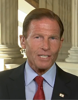 Blumenthal no longer top Dem on VA panel