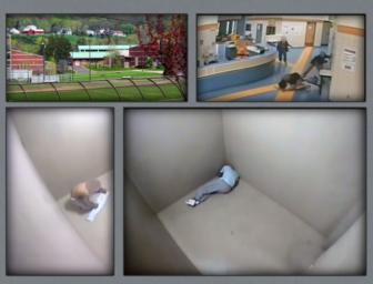 Surveillance videos from CJTS