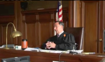 Supertior Court Judge Thomas Moukawsher