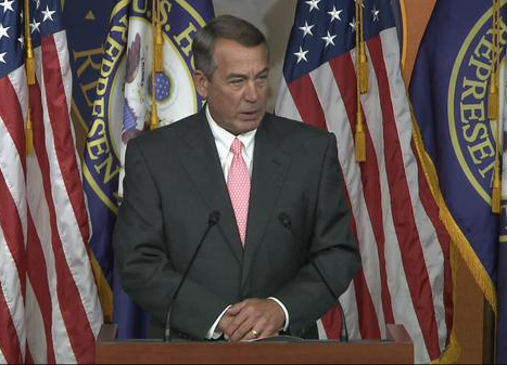 CT lawmakers say Boehner's resignation cuts shutdown odds, but threat remains
