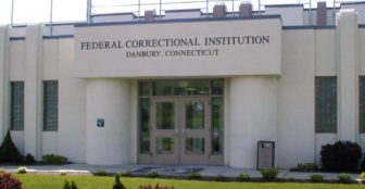 The Federal Correctional Institution in Danbury.