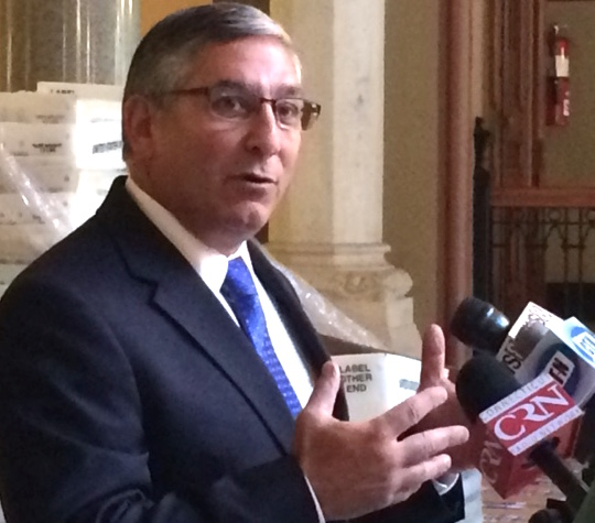 GOP's Fasano: Dems hiding fine print on their budget plan