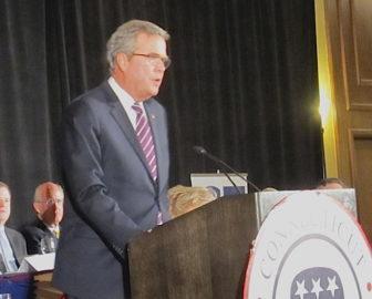 Former Republican presidential candidate Jeb Bush