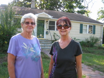 Connie Eberle, left, and Sharie Roy.