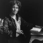 Emmeline Pankhurst 1858-1929.