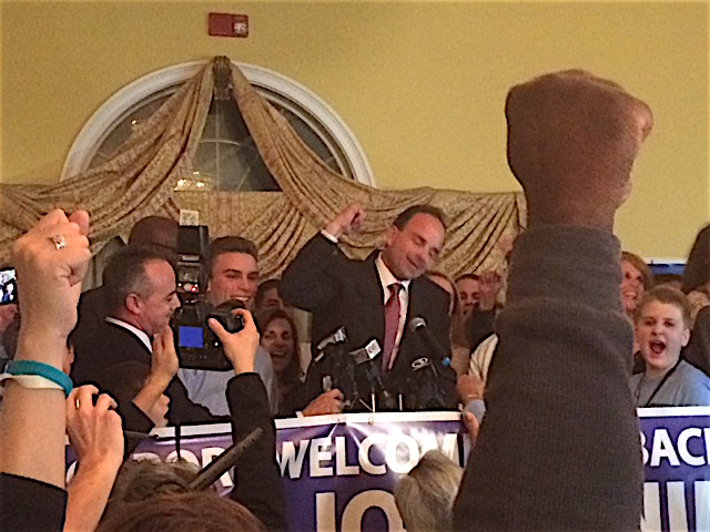 Joe Ganim gets his second chance in Bridgeport