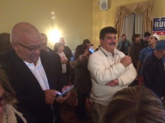 Face in the crowd: Joseph Santopietro, a former Waterbury mayor.