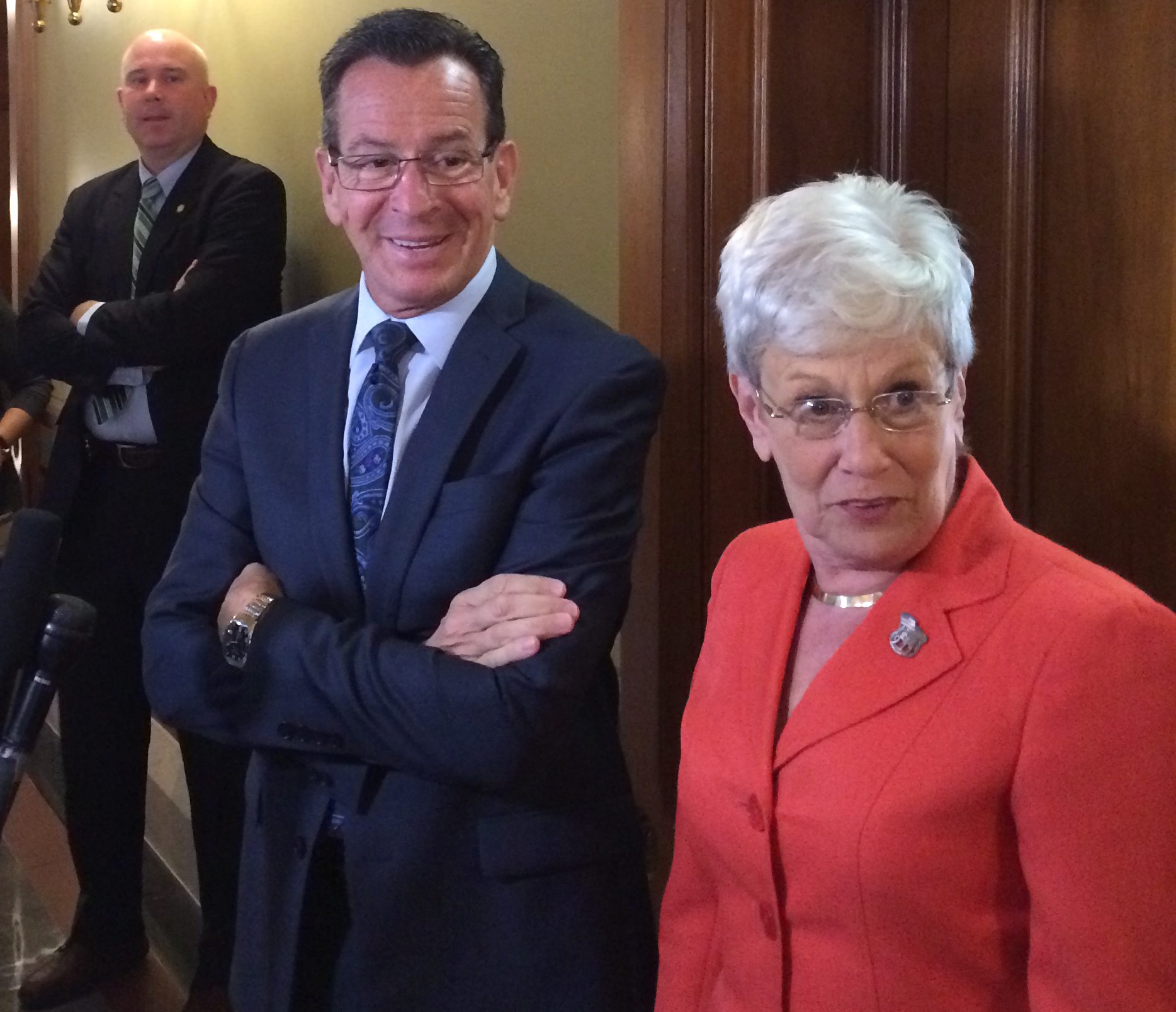 Challenges at home as Malloy raises national profile