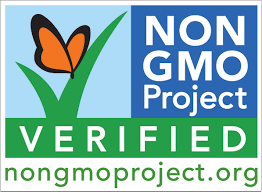 A label used to indicate a non-GMO product