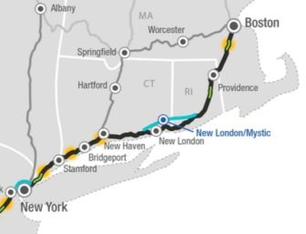 Northeast Corridor Improvement Alternative 1