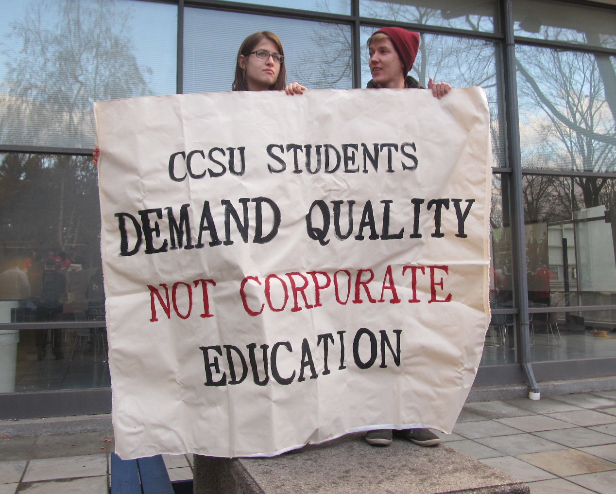 Contentious labor talks at CSCU draw a political audience