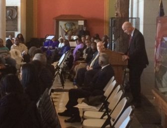"""Comptroller Kevin P. Lembo, the father of three black sons, talks about spanning a """"transcultural"""" divide."""