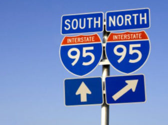 I-95 signs