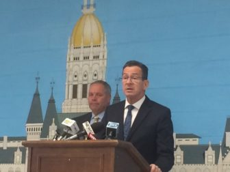 Gov. Dannel P. Malloy and Correction Commissioner Scott Semple announce another prison closing.
