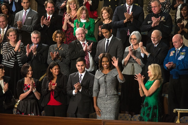 Obamas to put Malloy in spotlight at State of the Union