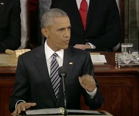 Prepared text of President Obama's State of the Union speech