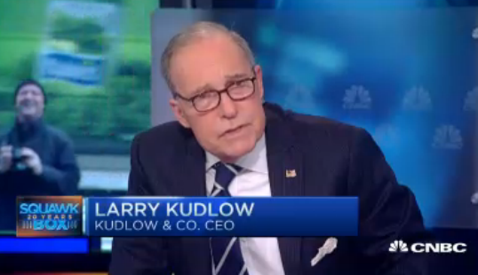 At  Republican retreat, GOP senators press Kudlow to run against Blumenthal
