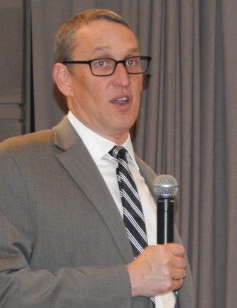 State budget director Benjamin Barnes