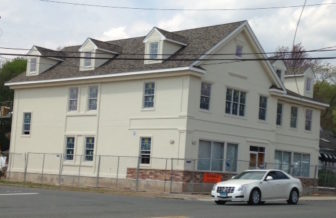 A new medical building on Whitney Avenue in Hamden as it neared completion.