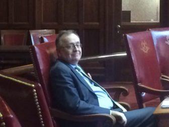 Sen. Andrew Maynard at the Capitol on Thursday.