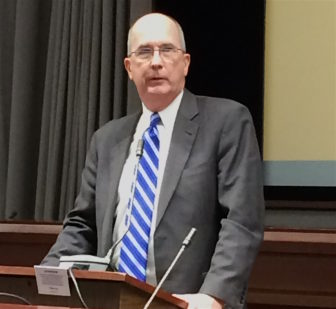 John Brennan, CBIA president and CEO, praises the governor's budget approach.