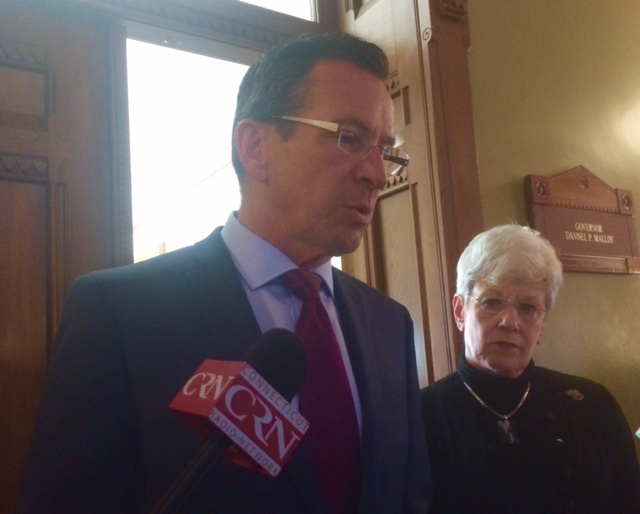 Malloy hints at layoffs before summer