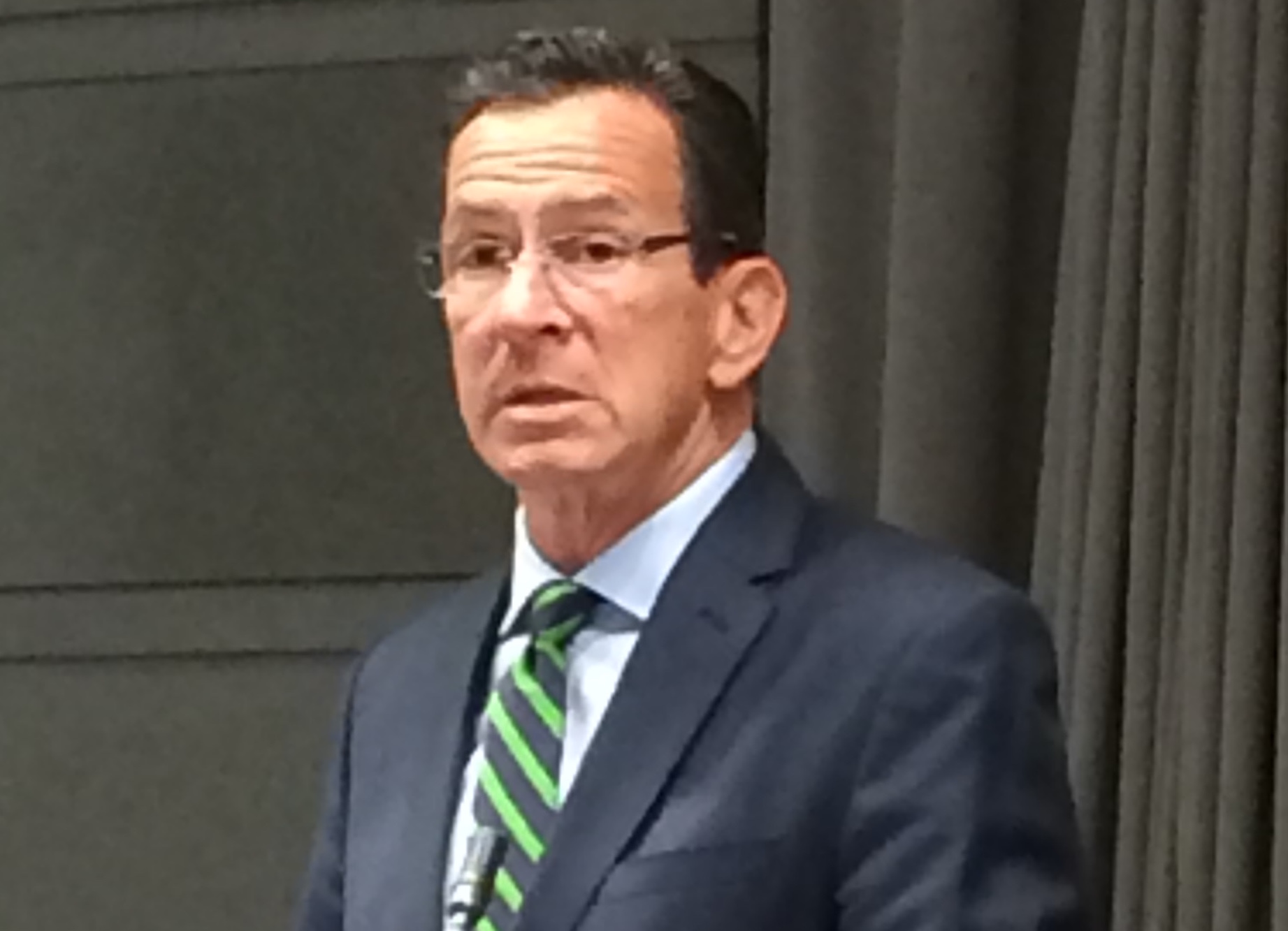 Malloy offering compromise on the budget to legislators today